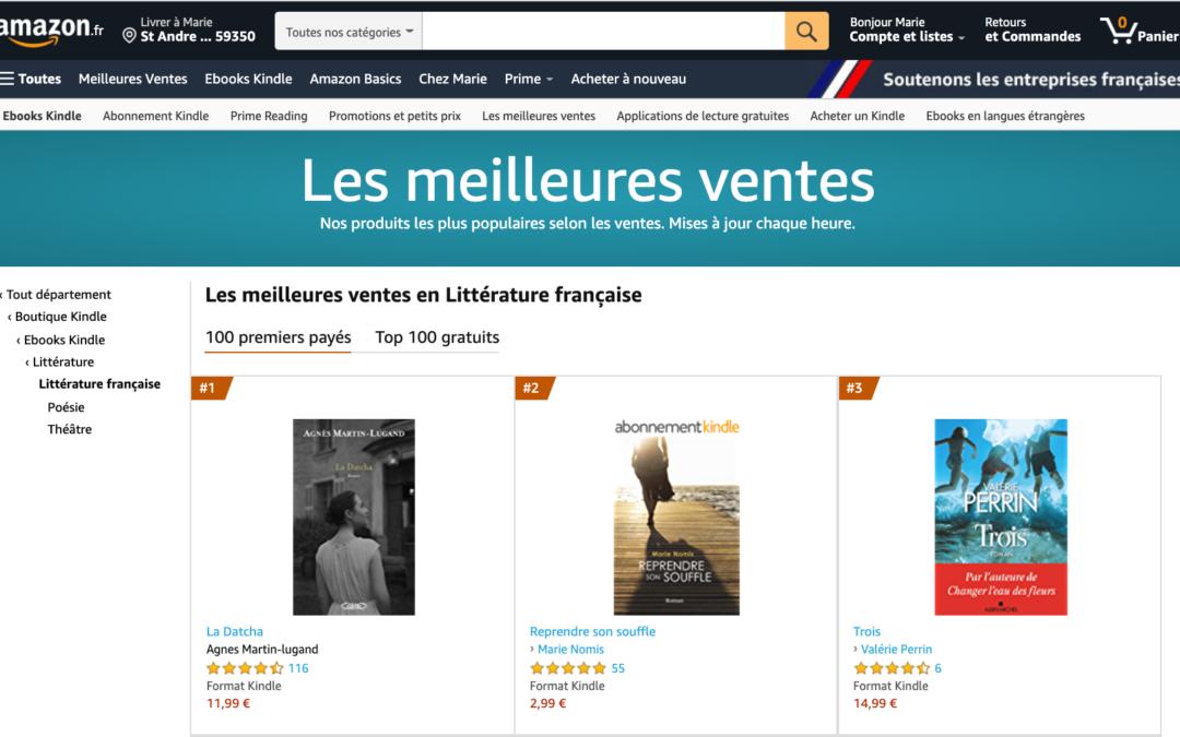 Amazon et les montagnes russes